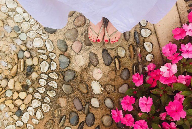 Flower Foot - Kira Reed Lorsch