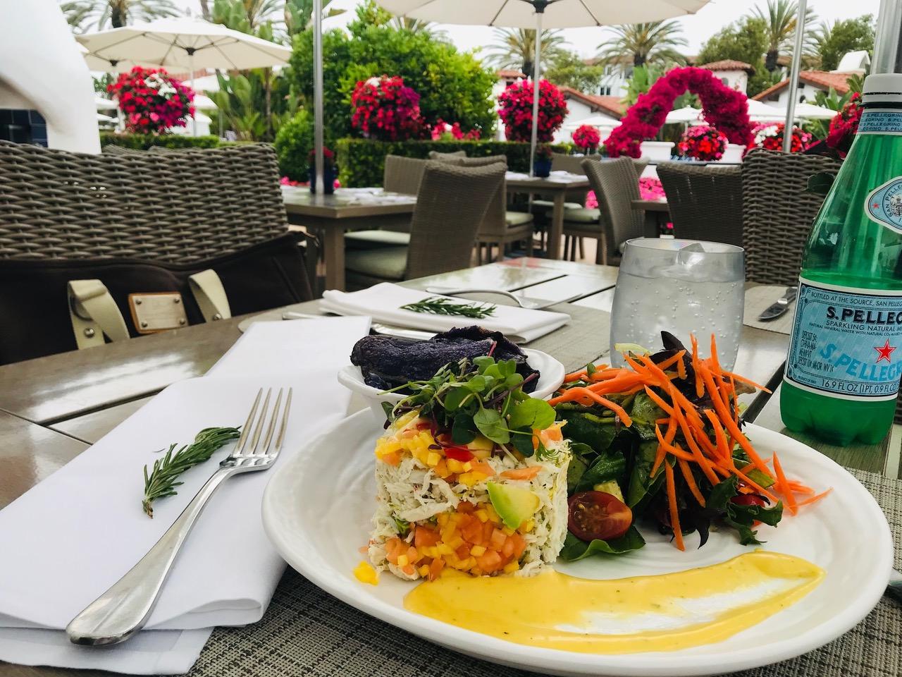 SpaCafe Crab Salad - Kira Reed Lorsch