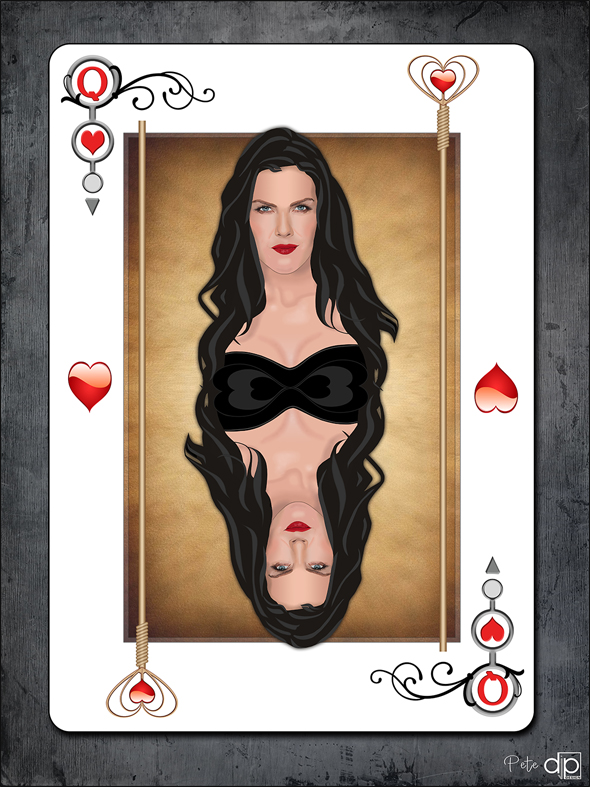 Kira Reed Lorsch as Queen of Hearts - Pete at DJPDesign.net